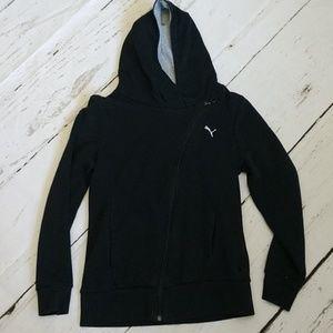 Puma Cross Zip Sweatshirt Jacket